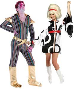 Fancy Dress Clothes For Sixties Themed Nights