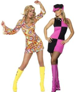 60s Chicks Fancy Dress Costumes