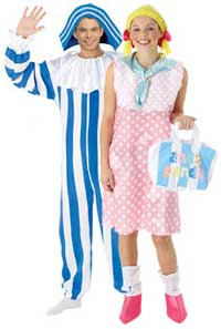 Andy Pandy And Looby Loo Fancy Dress Costumes