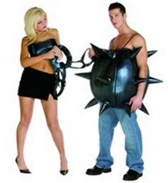 Ball and Chain Fancy Dress Costume