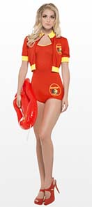 Baywatch Babe Costume