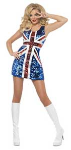 Sexy Britannia Fancy Dress Costume