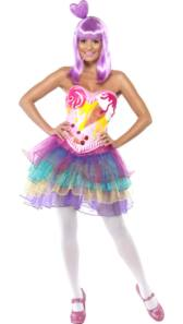 Candy Queen Katy Perry Fancy Dress Costume