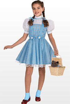 Dorothy Fancy Dress Costume For Book Day