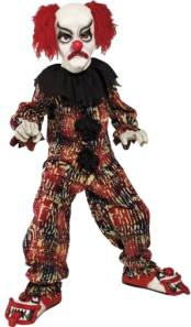 Scary Clown Fancy Dress Costumes For Kids