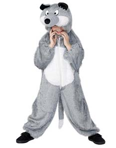 Child's Wolf  Fancy Dress Costume