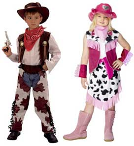 Cowboy Fancy Dress Costumes
