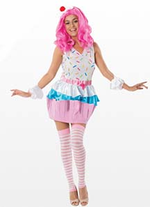 Cup Cake Fancy Dress Costume