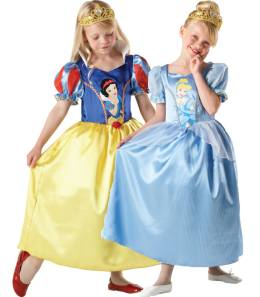 Reversible Disney Princesses Fancy Dress Costumes