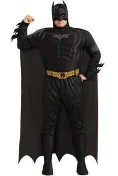 Batman Fancy Dress Costumes For Overweight