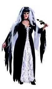 Bride of Darkness Halloween Costume For Plus Size Ladies