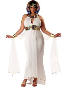 Full-Figure Cleopatra Fancy Dress Costume