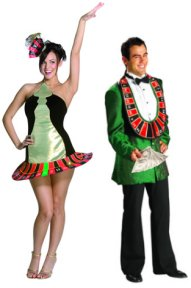 High Roller And Roulette Wheel Fancy Dress Costumes