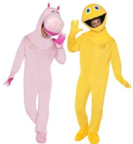 Rainbow Fancy Dress Costumes George And Zippy