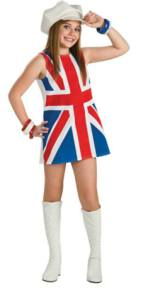 Girls Union Jack Dress