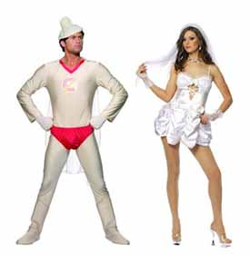 Fancy Dress Clothes For Hen Nights And Stag Nights