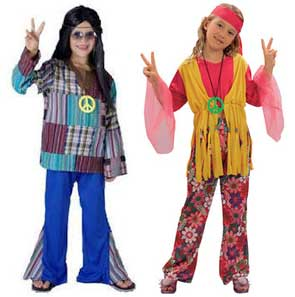 Hippie Fancy Dress Costumes For Kids