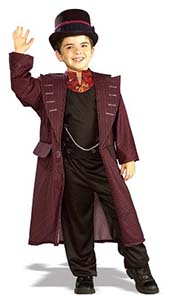 Kids Willie Wonka Fancy Dress Costume