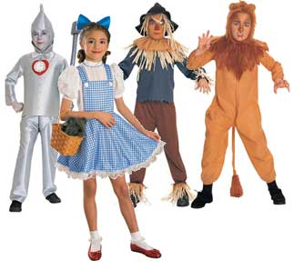Wizard Of Oz Fancy Dress Costume For Kids