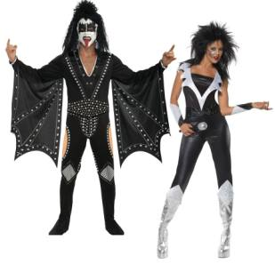 Kiss Fancy Dress Outfit