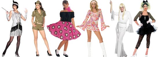 Fancy Dress Clothes For Sixties And Seventies Themed Fancy Dress Parties Hippie Fancy Dress
