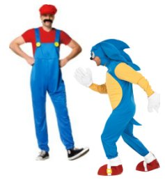Sonic And Mario Costumes