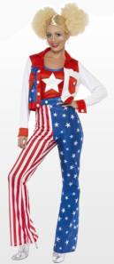 Miss America Fancy Dress Costume