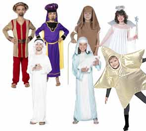 Christmas Fancy Dress Costumes For Nativity Plays