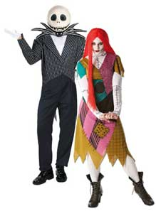 Nightmare Before Christmas Fancy Dress Costume