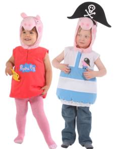 Peppa Pig Fancy Dress Costumes For Toddlers