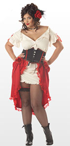 Spanish Senorita Fancy Dress Outfit For Plus Size Ladies