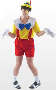 Pinocchio Fancy Dress Costume