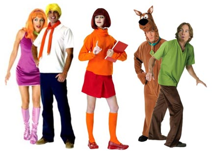 Scooby Doo Fancy Dress Costume - Fred and Daphne Fancy Dress Outfits
