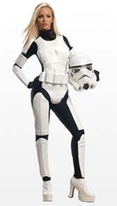 Sexy Stormtrooper Fancy Dress Costume