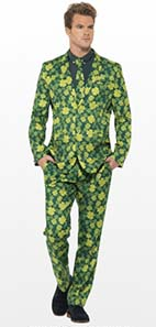 Shamrock Suit For St Patricks Day