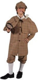 Sherlock Holmes Fancy Dress Costume For Kids