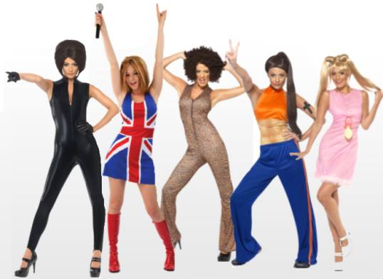 Spice Girls Fancy Dress Costume