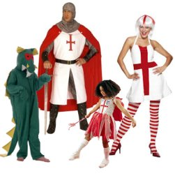 St George And The Dragon Fancy Dress Clothes