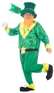 Irish Theme Fancy Dress Costumes For St Patricks Day Leprechaun Costume
