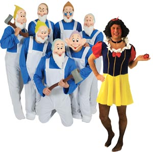 Stag Night Snow White And The Seven Dwarfs Fancy Dress Costume