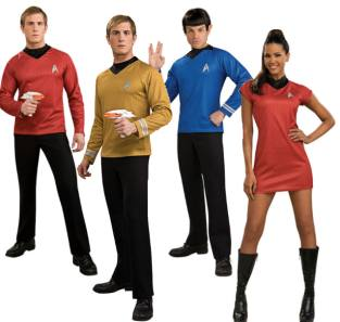 Star Trek Fancy Dress Costumes