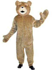 Ted Fancy Dress Costume