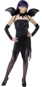 Pixie Bat Fancy Dress Costume For Teenage Girls