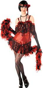 Flapper Fancy Dress Costume For Teenagers