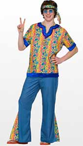 Hippie Fancy Dress Costumes For Teenage Boys