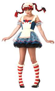Rag Doll Fancy Dress Costume For Teenagers