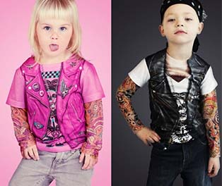 Toddler Biker Fancy Dress Costumes