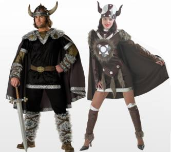 Thor Viking Fancy Dress Costume