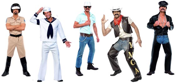 Village People YMCA Famcy Dress Clothes