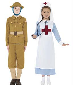 WW1 Soldier Costume For Boys